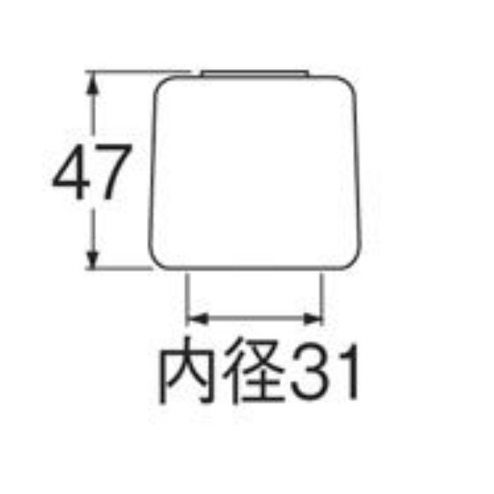 PR250FS 角クリスタルハンドル