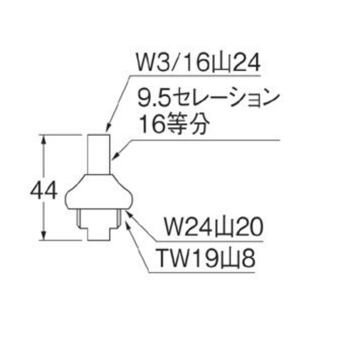 PU36S-13 スピンドルセット