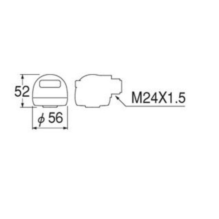 PS81-80X2-1MH シャワーヘッド