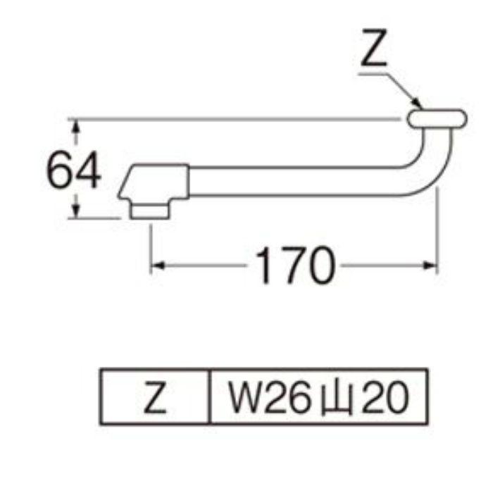 PA10DG-60X-16 節水断熱自在パイプ