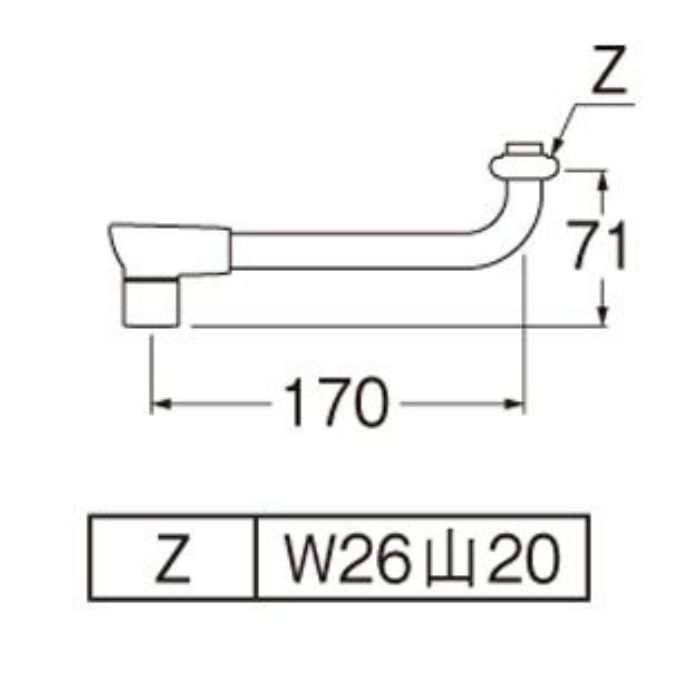 PA1012H-60X-16-MW2 節水断熱パイプ