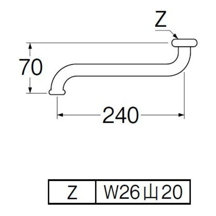 PA10G-61X2-16 節水自在パイプ