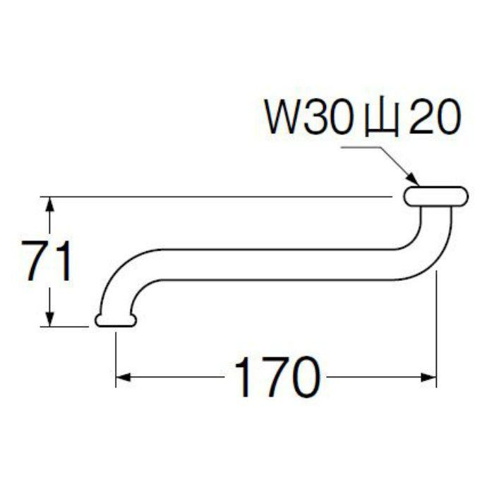 PA10J-60X-19 自在パイプ