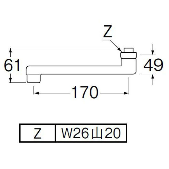 PA1110-60X-16 角吐水口