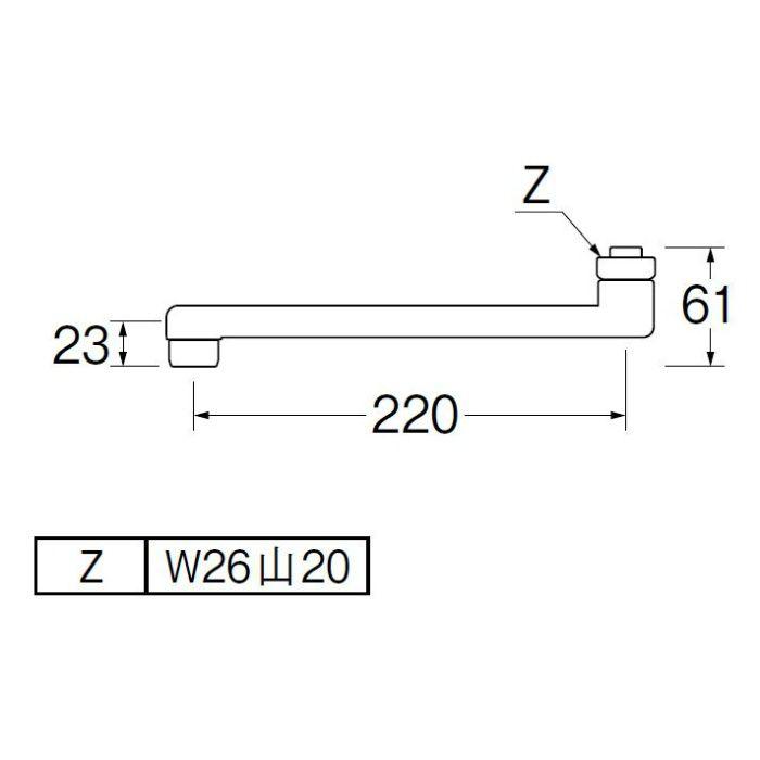 PA1110-60X2-16 角吐水口
