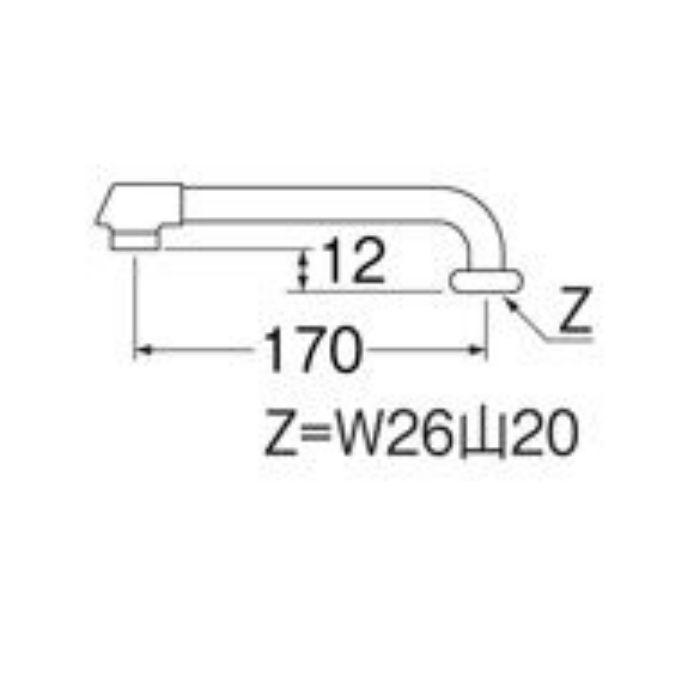 PA20JD-60X-16 断熱横形パイプ