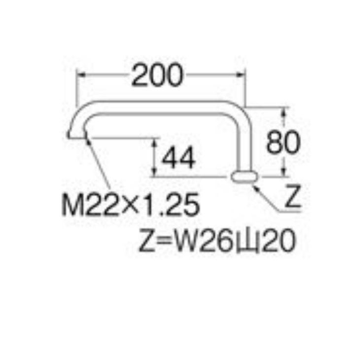 PA235-60X-16 浄水器用パイプ
