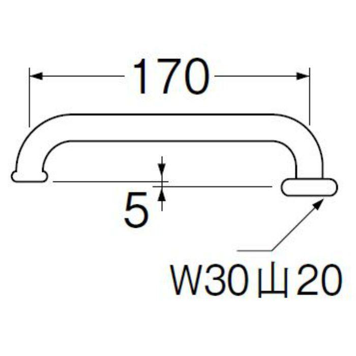PA20J-60X-19 横形パイプ