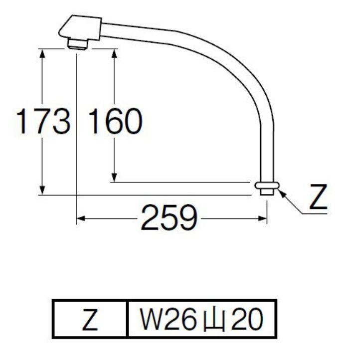 PA232D-61X2-16 断熱腰高パイプ