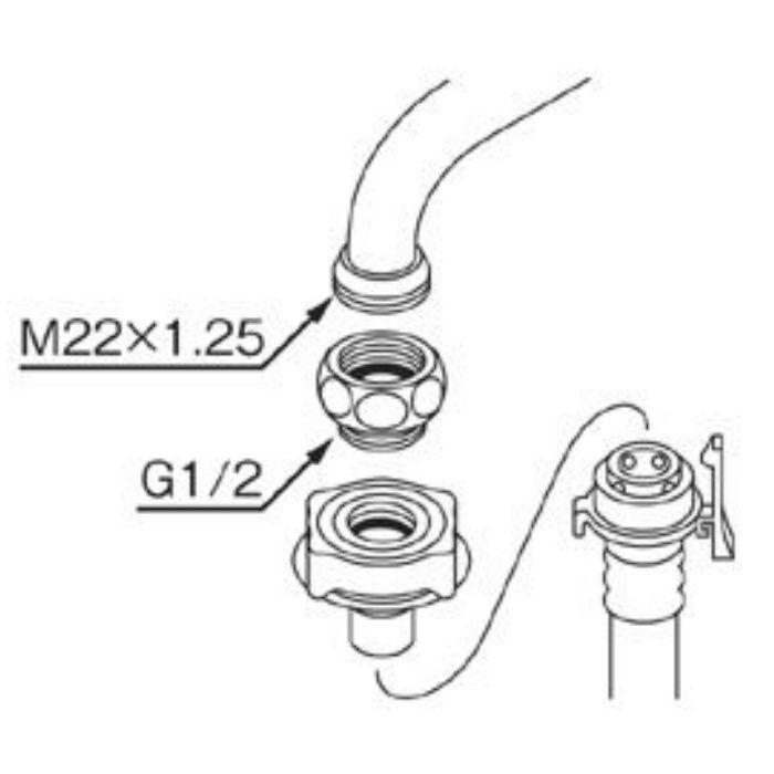 PT35-4-13 泡沫アダプター