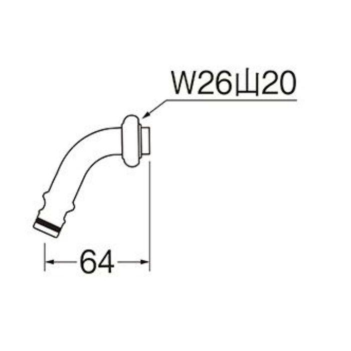 PY126-64X-16 散水用ホームパイプ