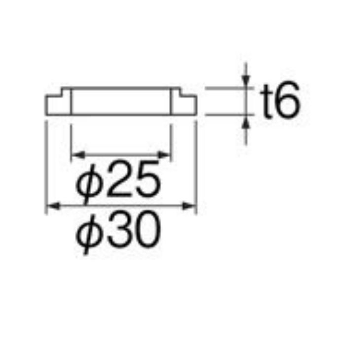 PP31-1S-13 水栓取付調節パッキン