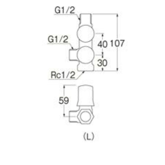 B3111-L-13 スマートヘッダー(共用形)