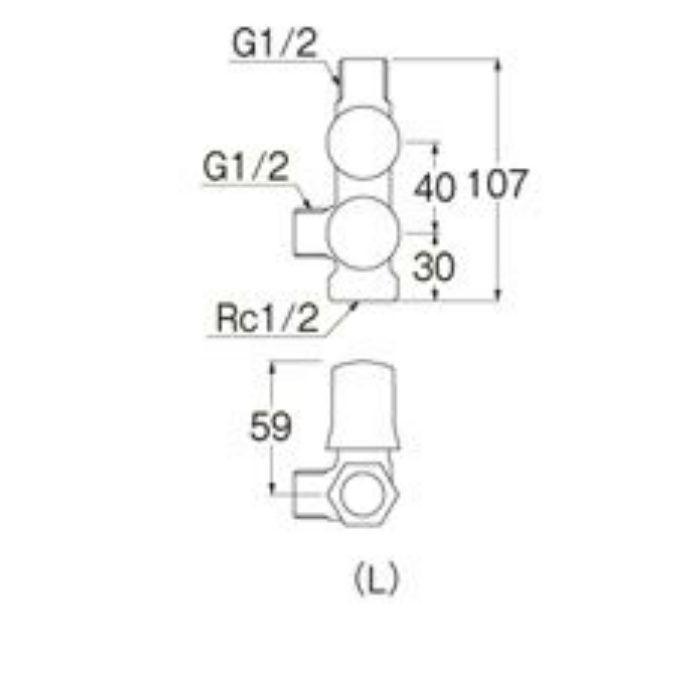 B3111-L-13-R スマートヘッダー(共用形)
