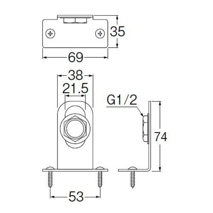 R641T-S 止水栓ブラケット
