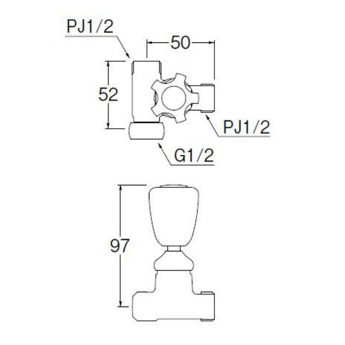 B260-R-13 分岐バルブ