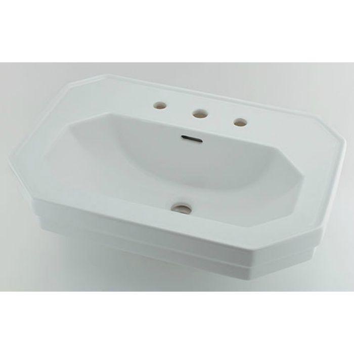 #DU-0438700030 壁掛タイプ 壁掛洗面器(3ホール)
