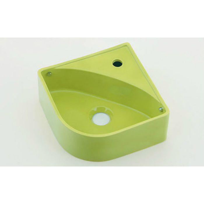 493-150-YG 壁掛タイプ 壁掛手洗器 イエローグリーン