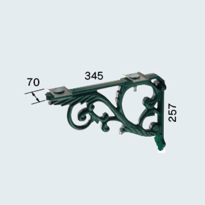 250-005-G ブラケット(鋳鉄・緑色塗装)