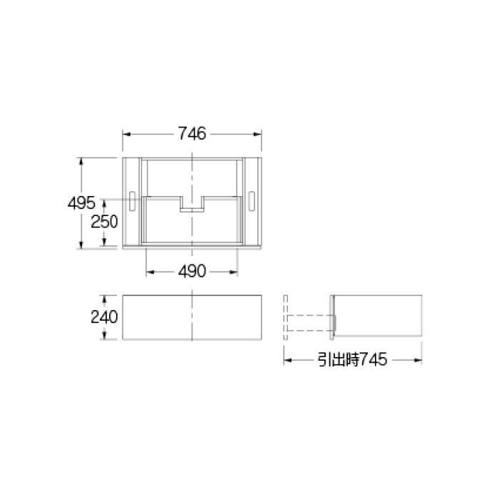 207-100-M 専用カウンター キャビネット