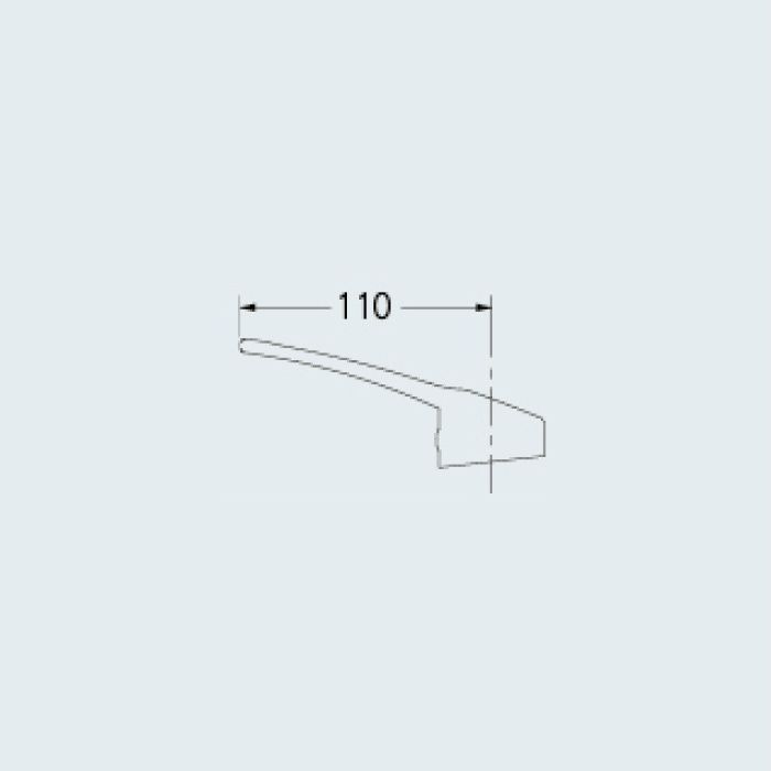 109-172 水栓本体部品 シングルレバーハンドル