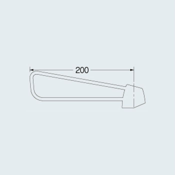 109-174 水栓本体部品 シングルレバーハンドル