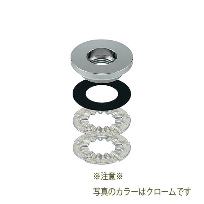 107-822 水栓本体部品 単水栓取付アダプター ゴールド