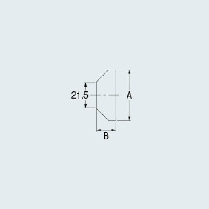 0177-54×20 水栓本体部品 カバーザガネ