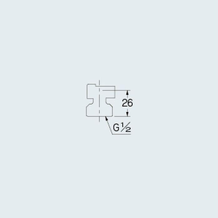 101-073 水栓本体部品 接続金具セット(逆止弁なし)