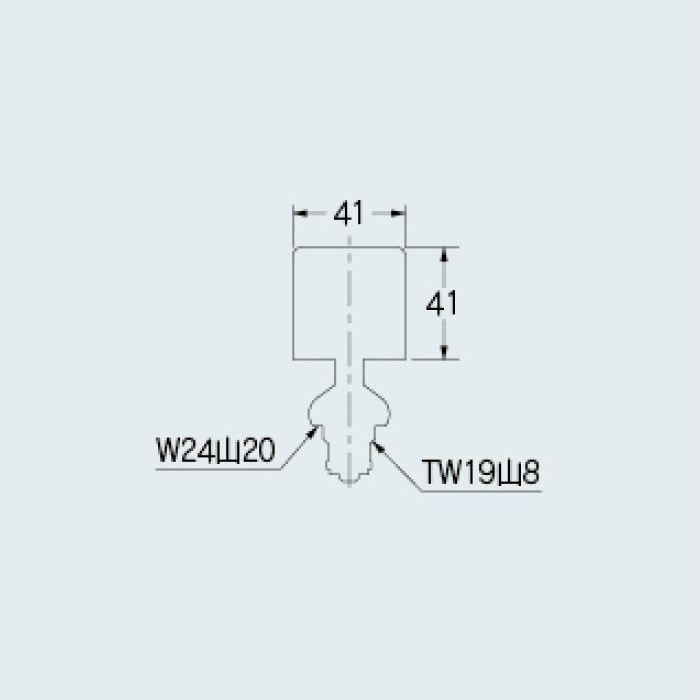 792-643 水栓本体部品 水撃吸収水栓上部