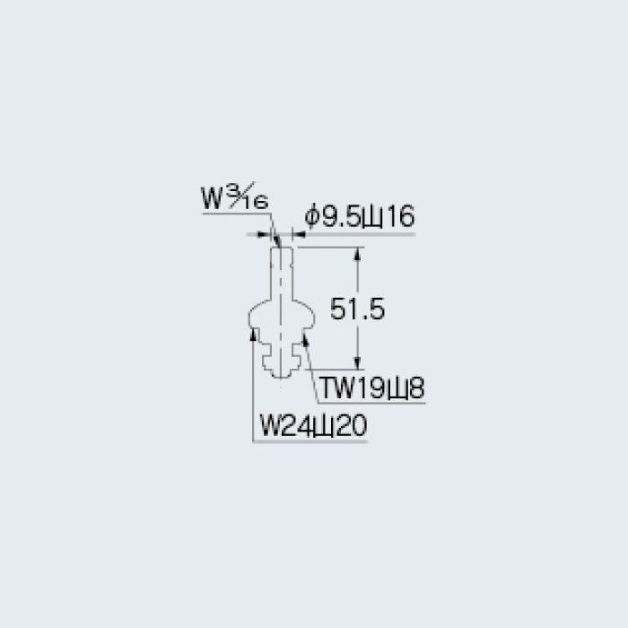 792-805 水栓本体部品 水栓上部