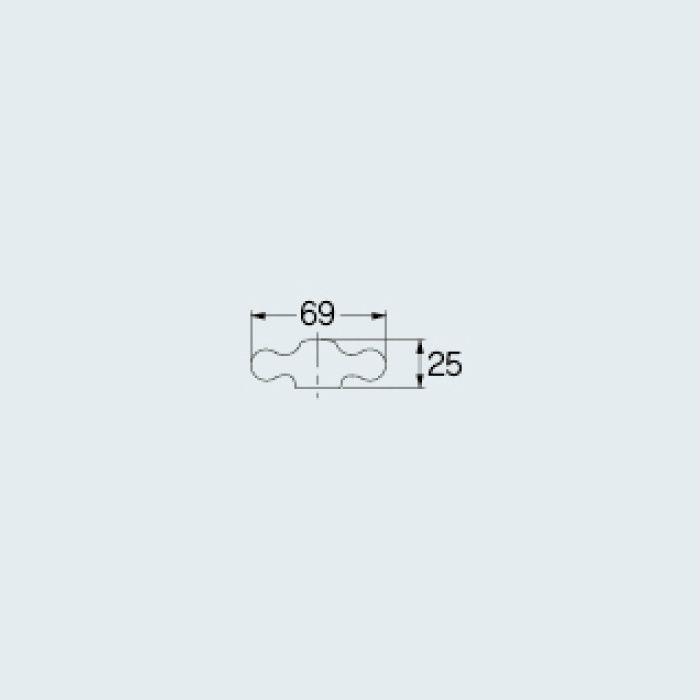 7940 水栓本体部品 クロスハンドル