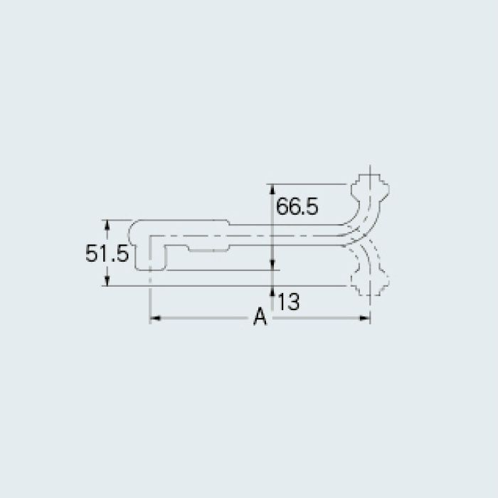775-10-300 水栓先端部品 泡沫SUパイプ