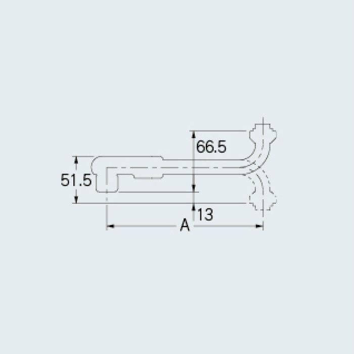 795-13-300 水栓先端部品 泡沫SUパイプ