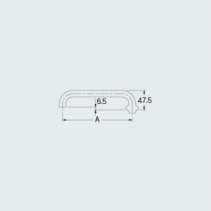 0752-360 水栓先端部品 Uパイプ