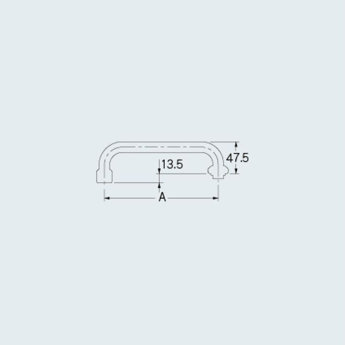 0749-300 水栓先端部品 泡沫Uパイプ