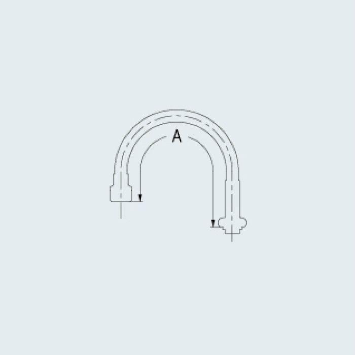 775-402 水栓先端部品 スワンフレキパイプ