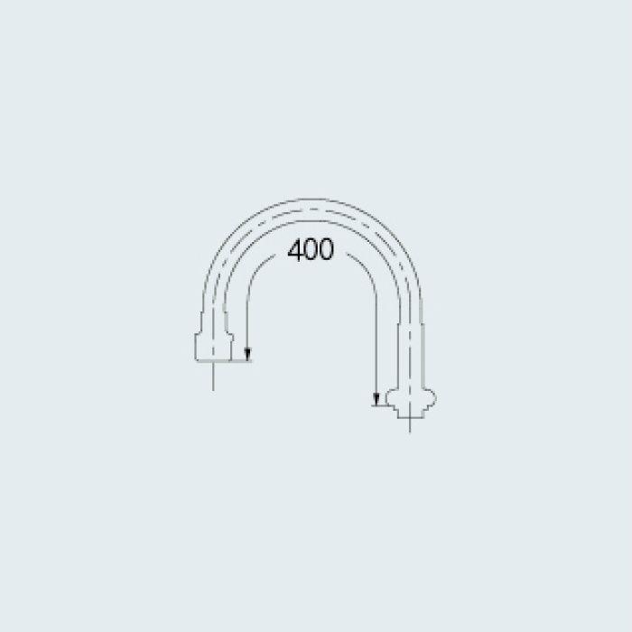 795-402 水栓先端部品 エコスワンフレキパイプ