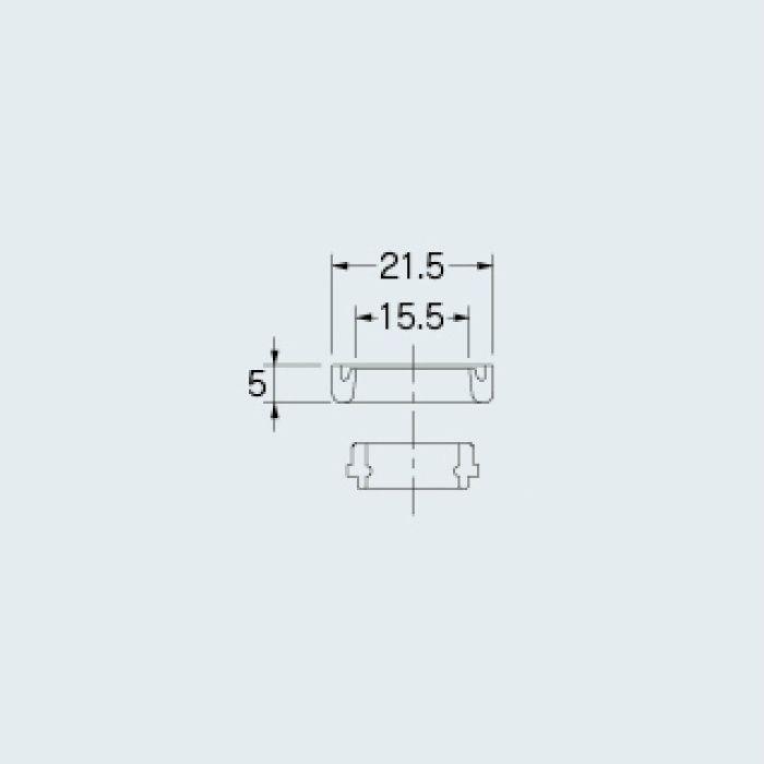 794-802 水栓先端部品 自在パイプ取付パッキン(小)