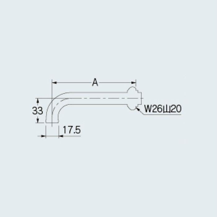 795-10-170 水栓先端部品 回転吐水口