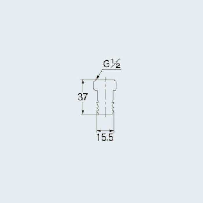 764-002 水栓先端部品 ユニオンタケノコ 13
