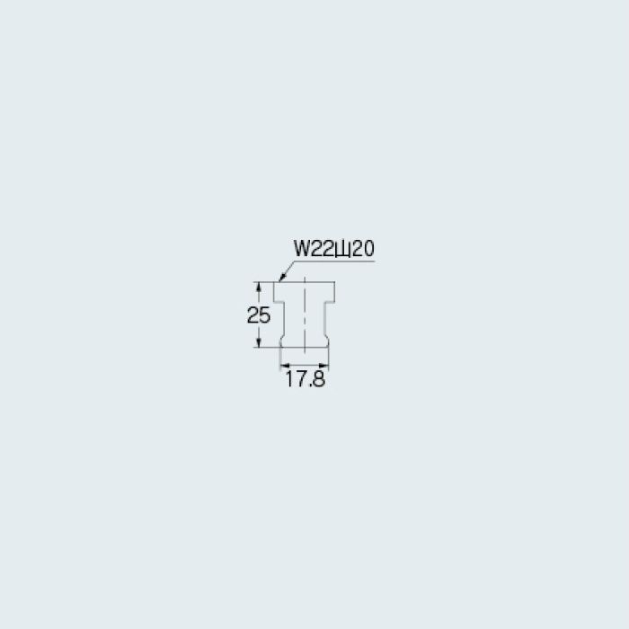 796-182 水栓先端部品 泡沫水栓用アダプター
