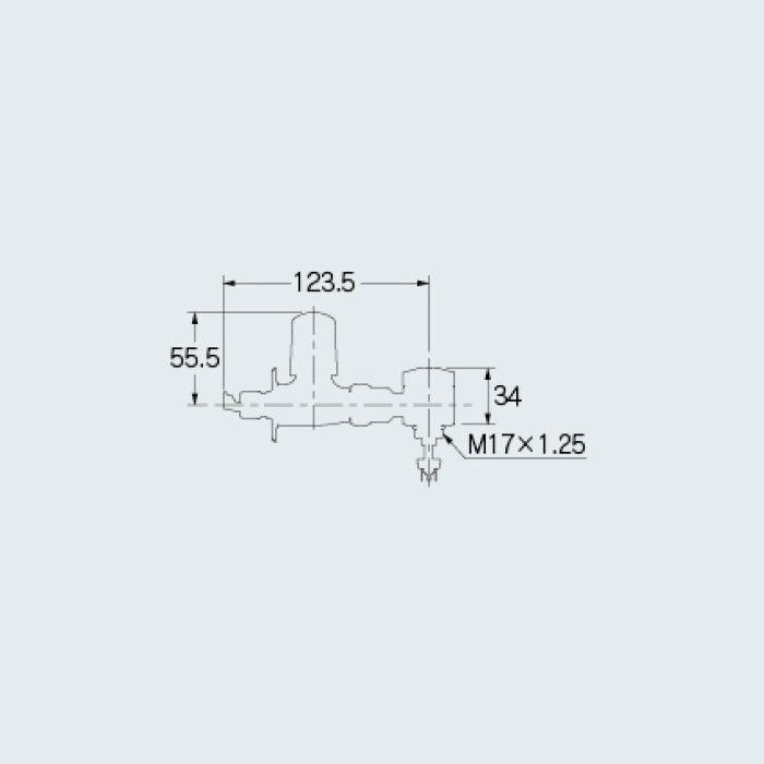 100-131 分岐装置 アジャストクランク専用分岐金具