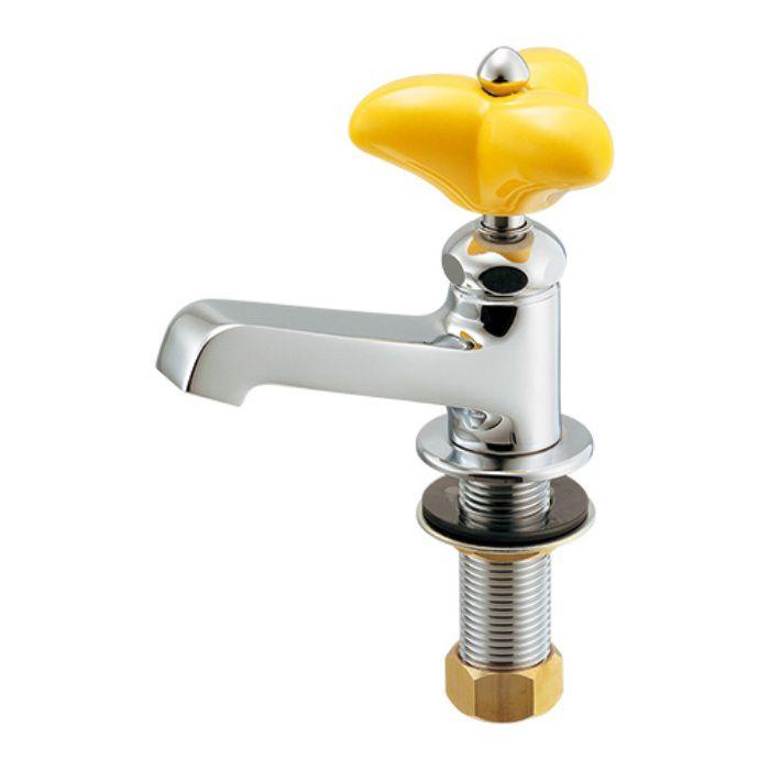 700-071-Y 一般水栓 立水栓 イエロー