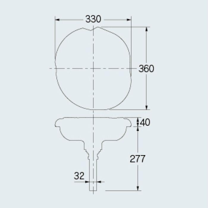 493-053 アイキャッチ手洗器 開いた口がふさがらない