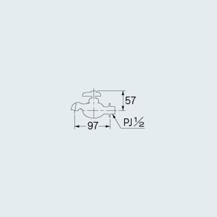 711-303-13 アイキャッチ水栓 小太り蛇口さん