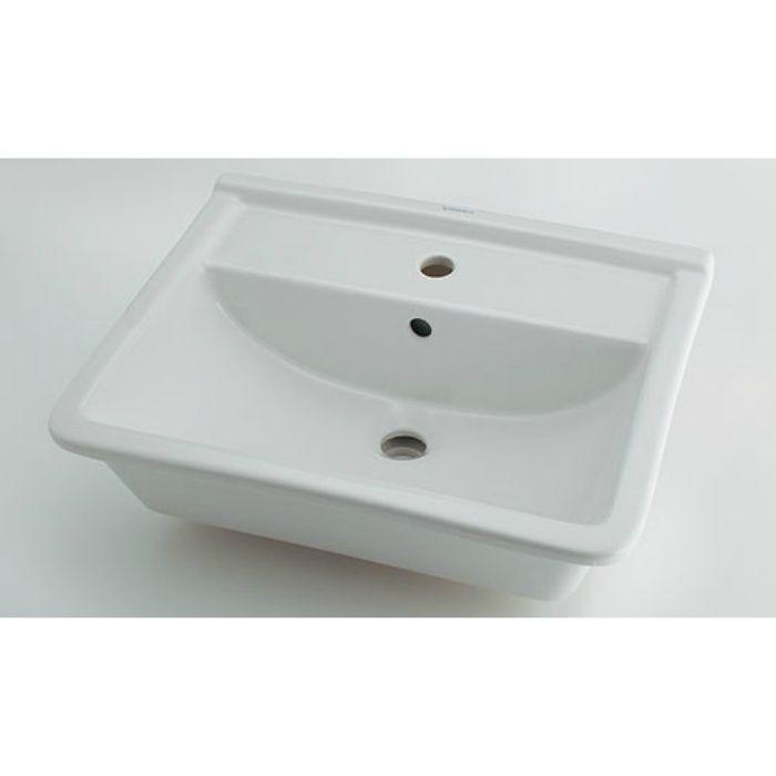 #DU-0302560000 カウンター設置タイプ 角型洗面器(1ホール)