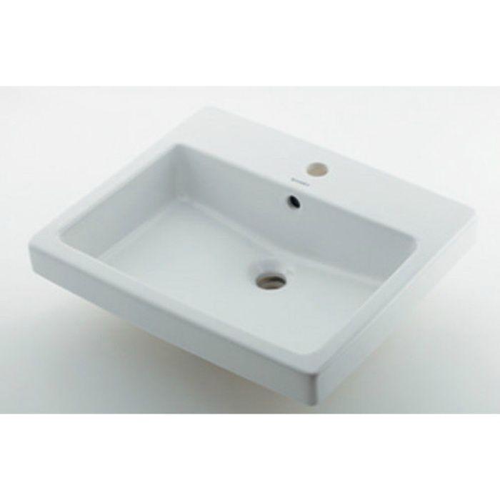 #DU-0315550000 カウンター設置タイプ 角型洗面器(1ホール)