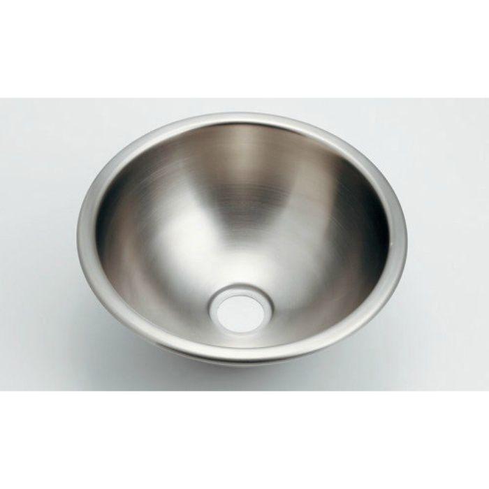 493-098 カウンター設置タイプ 丸型手洗器