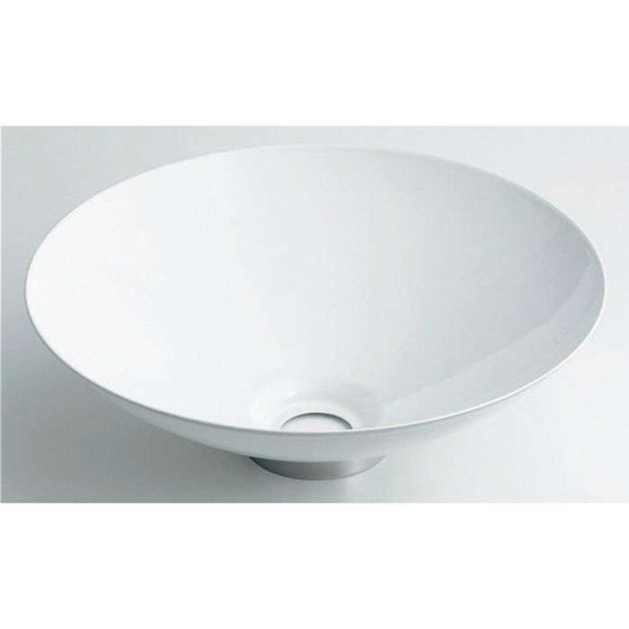 493-039-W カウンター設置タイプ 丸型手洗器 ホワイト